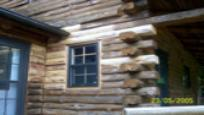 Log Home Maintenance photo