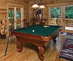 Log Pool Table