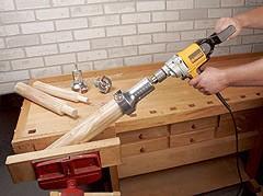 log woodworking tools