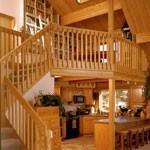 Log Home Photo