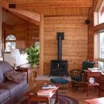 Log Home Photo