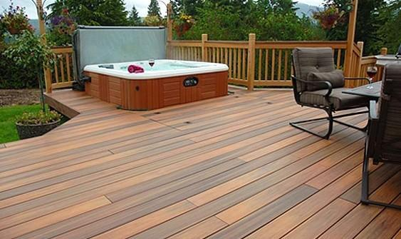 Decks and hot tubs what you need to know before you build for Hot tub deck designs plans
