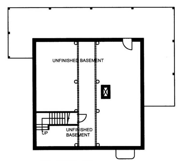 Plan 039 00082 2 Bedroom 2 Bath Log Home Plan
