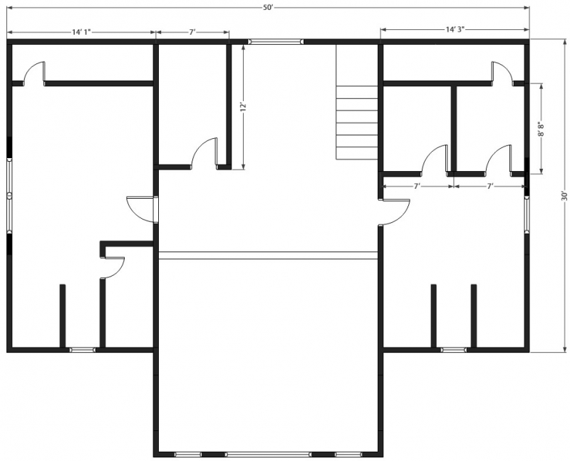 Mountain view log home plan for Mountain view home plans