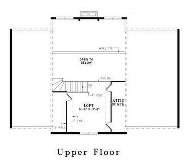 Plan 110 00920 2 Bedroom 2 Bath Log Home Plan