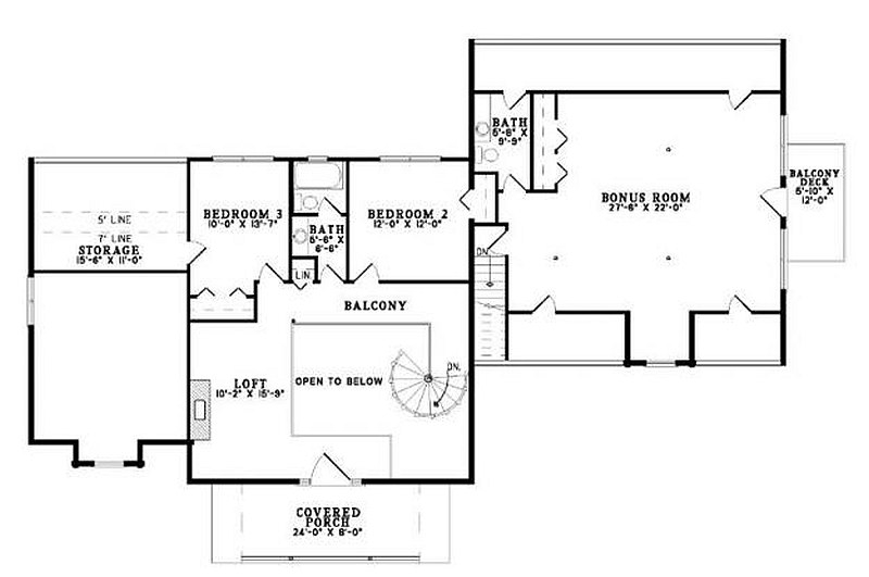 Plan 110 00935 3 bedroom 4 bath log home plan for 4 bedroom log home plans