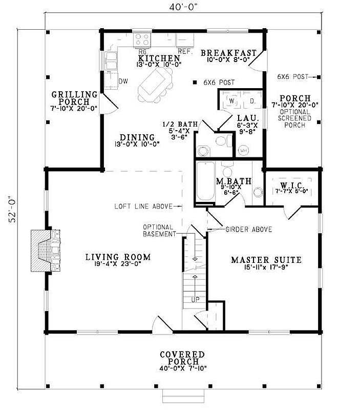 Plan 110 00937 2 Bedroom 2 5 Bath Log Home Plan