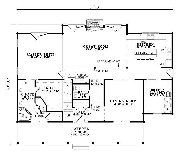 Plan 110 00939 3 bedroom 2 5 bath log home plan for 5 bedroom log home plans