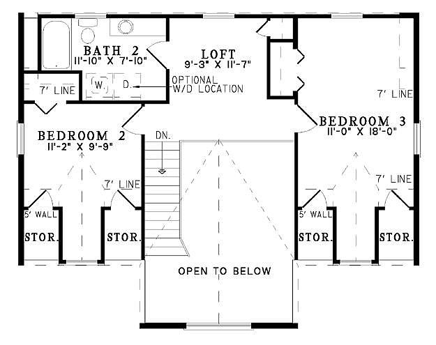 Plan 110 00940 3 Bedroom 2 Bath Log Home Plan
