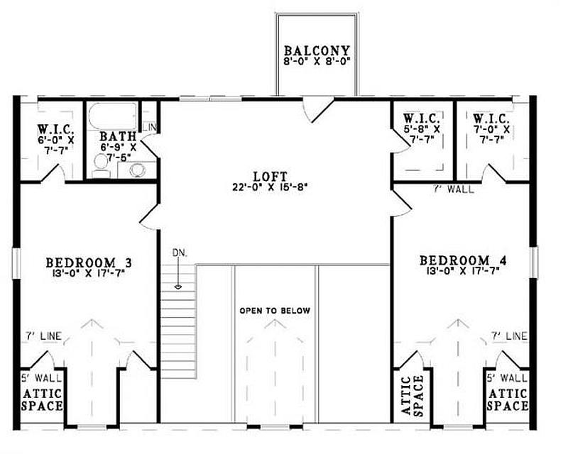 Plan 110 00945 4 Bedroom 3 Bath Log Home Plan
