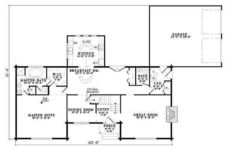 Plan 110 00957 3 Bedroom 2 5 Bath Log Home Plan