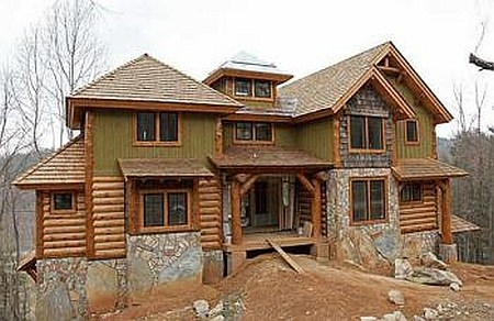 Plan 8504 00031 3 bedroom 2 5 bath log home plan for 5 bedroom log home plans