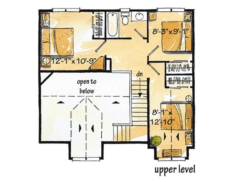 Plan lsg11532kn 4 bedroom 2 bath log home plan for 4 bedroom log home plans