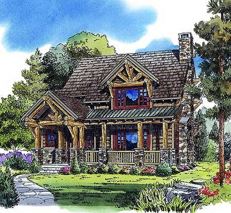Plan lsg11535kn 3 bedroom 2 bath log home plan for 2000 sq ft log cabin cost