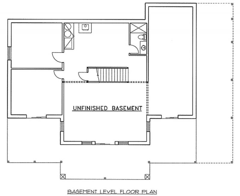 Plan lsg35293gh 2 bedroom 3 bath log home plan for 2 bedroom log home plans
