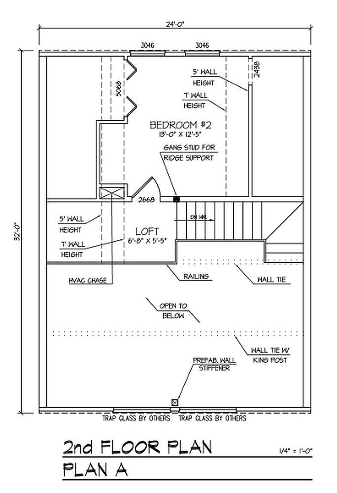 Rising Sun Plan A Log Cabin Plan
