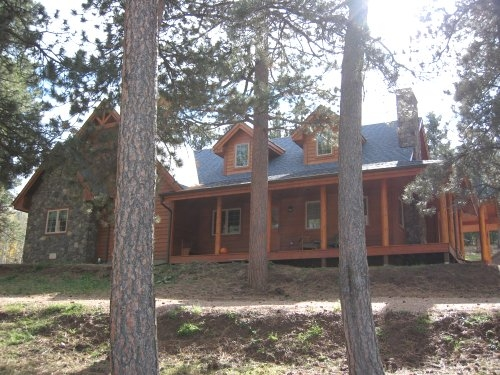 The Prairie Ranch Log Home Plan