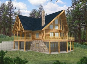 Log Home Plans - Log Cabin Plans Search