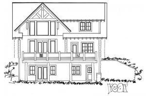 Plan 1907 00001 4 bedroom 3 5 bath log home plan for 5 bedroom log home plans